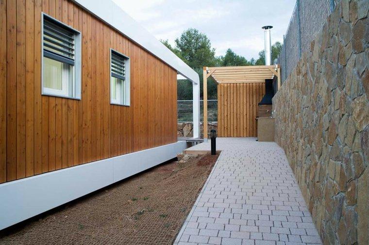 Casa prefabricada contemporánea en Castellón de la Plana