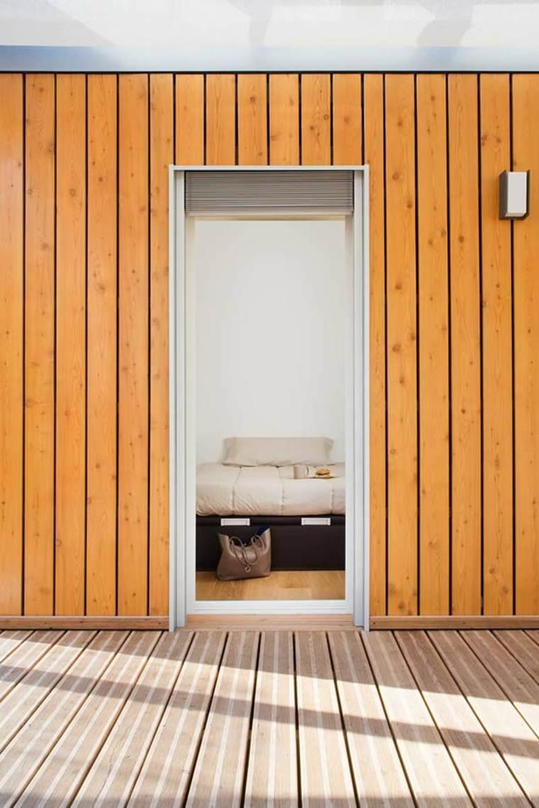 exterior de madera