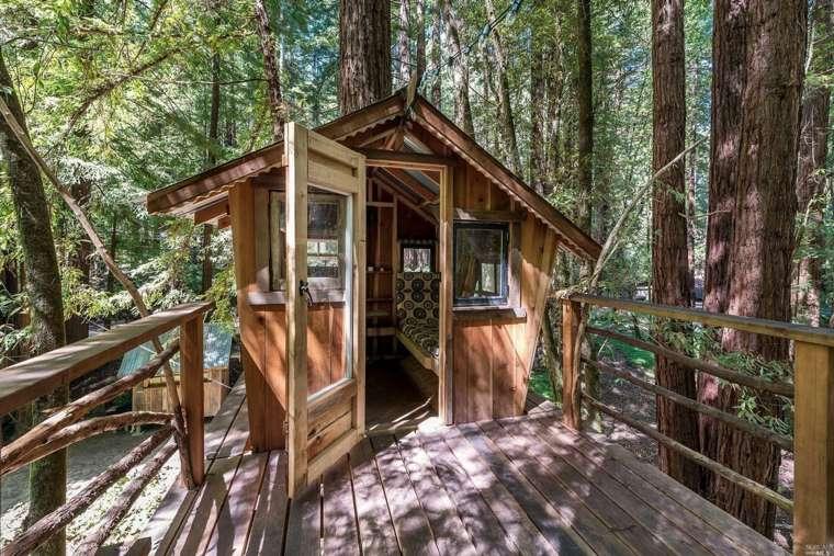 diseños de cabañas de madera