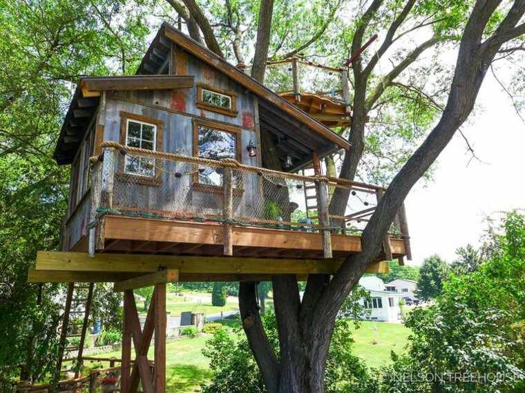 diseños de cabañas de madera modernas