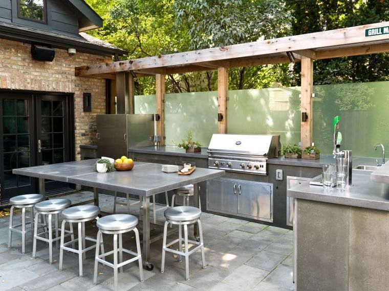 cocina-muebles-acero-diseno-moderno-ideas