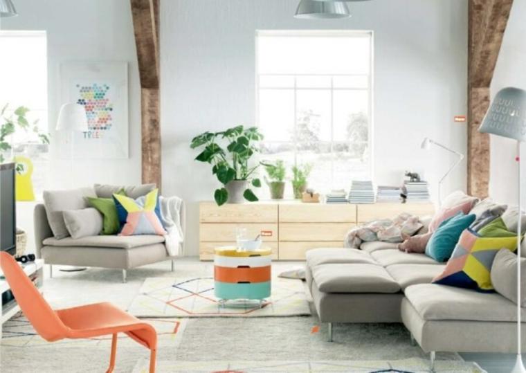 muebles de Ikea para sala de estar