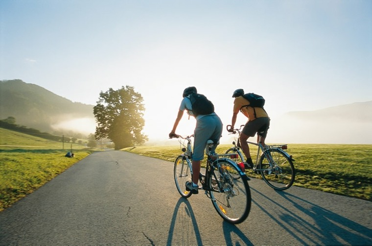 como bajar de peso-montando-bicicleta