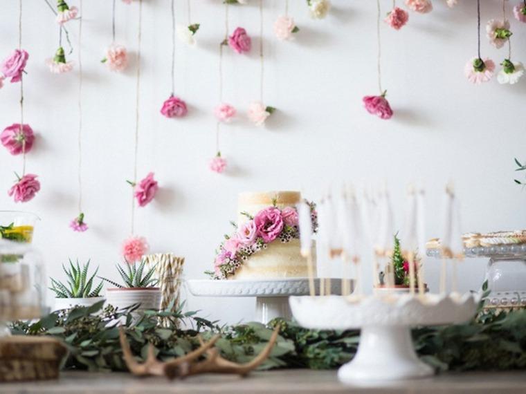 como decorar para un baby shower-pared