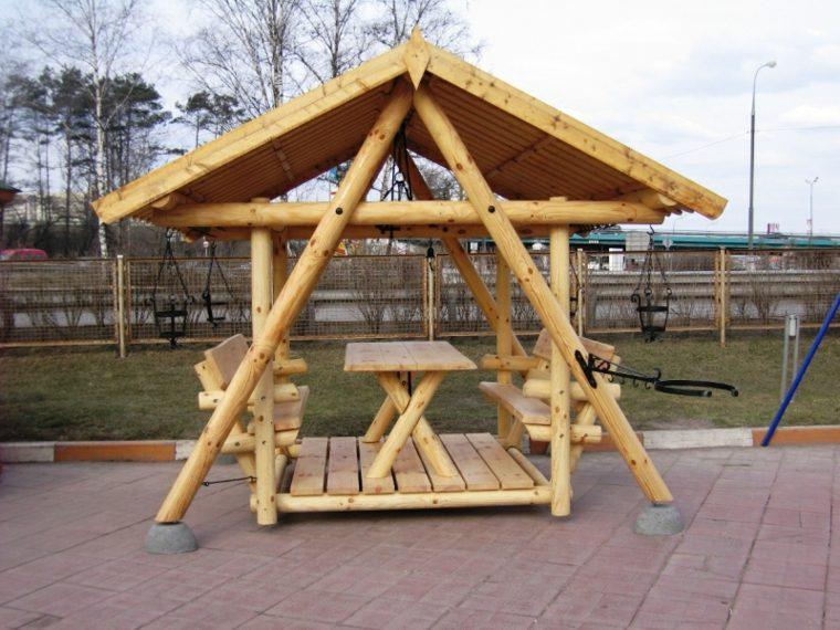 construir un porche-madera-clasico