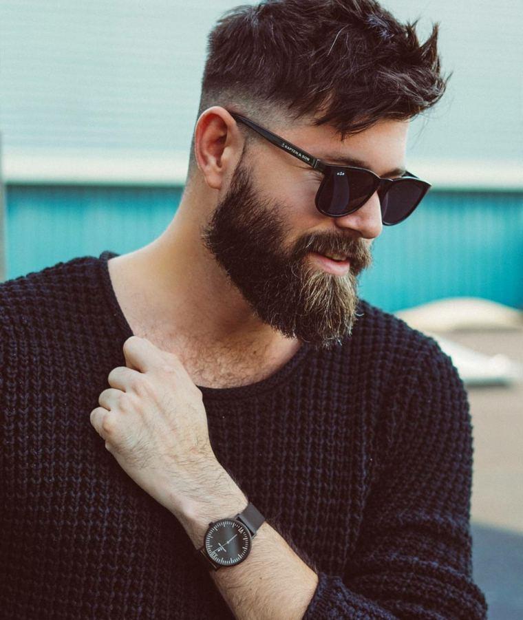 cortes de barba-mantenimiento-tendencias