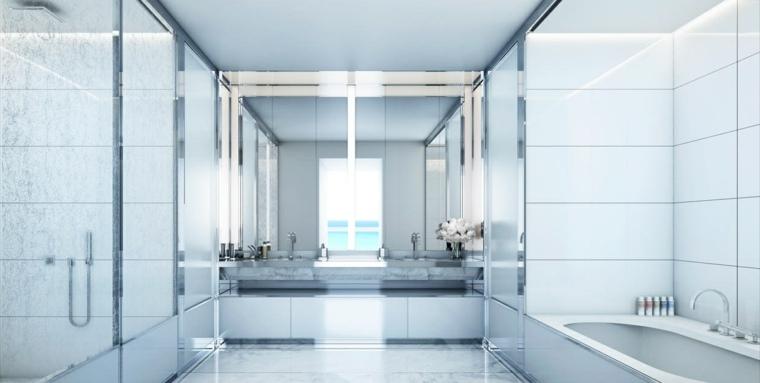 cuartos de bano-marmol-blanco