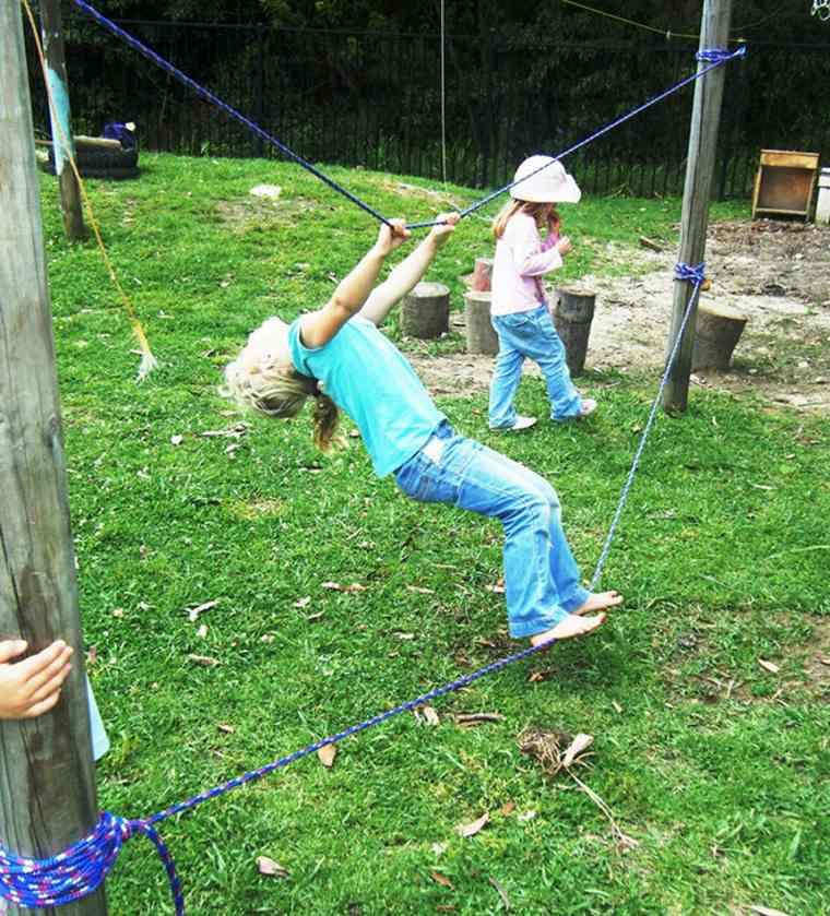 Cómo hacer juegos infantiles para jardín de bricolaje? -