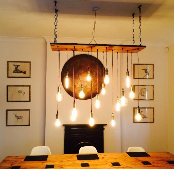 decoración-de-comedor-bombillas