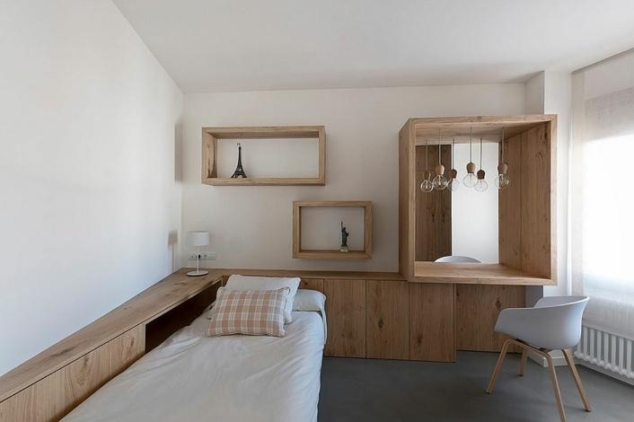 decoración de cuartos para niños minimalista