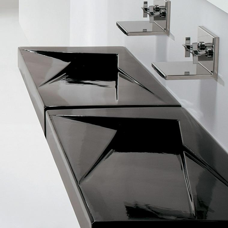 Accesorios para ba os unos grifos negros para decorar - Grifos modernos bano ...