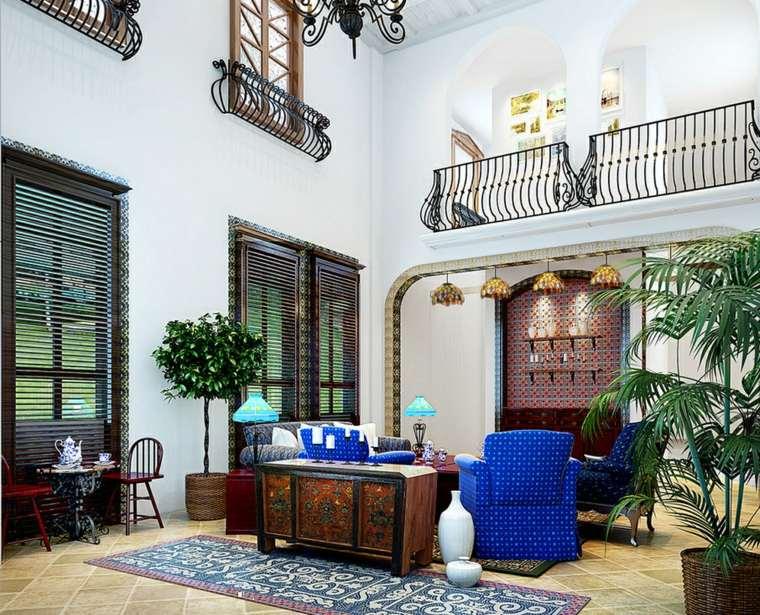 decoracion de casas modernas-elementos-mediterraneos