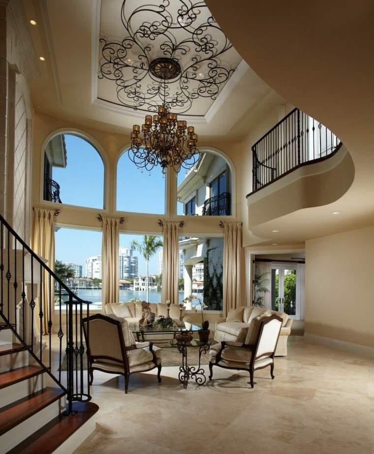 Interiores de casas modernas de estilo mediterr neo - Decoraciones de casas modernas ...