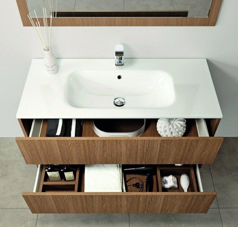 decoracion de casas modernas-muebles-banos