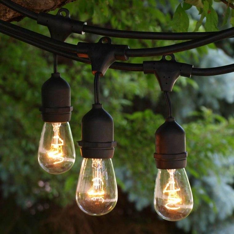 decoracion de exteriores-lamparas-colgantes