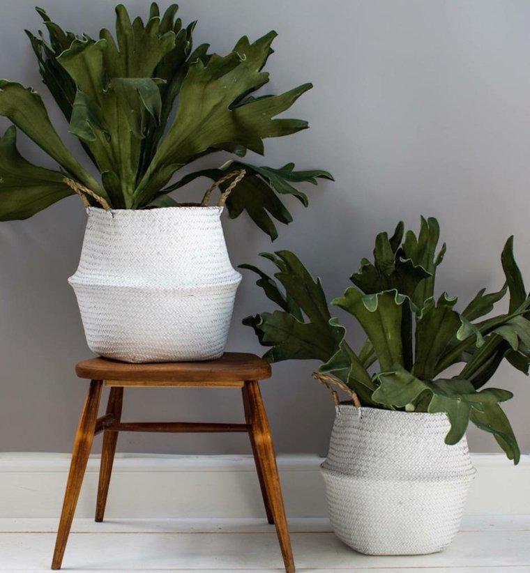 Jardineras modernas para decorar interiores y exteriores for Macetas pequenas