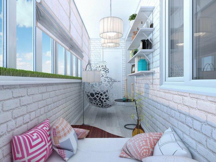 decoracion de exteriores-modernos-terrazas-pequenas