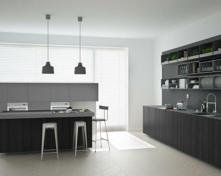 decoracion de interiores-cocinas-minimalistas