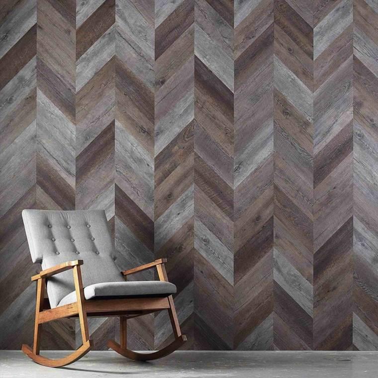 decoracion de paredes-salones-enlosados-madera