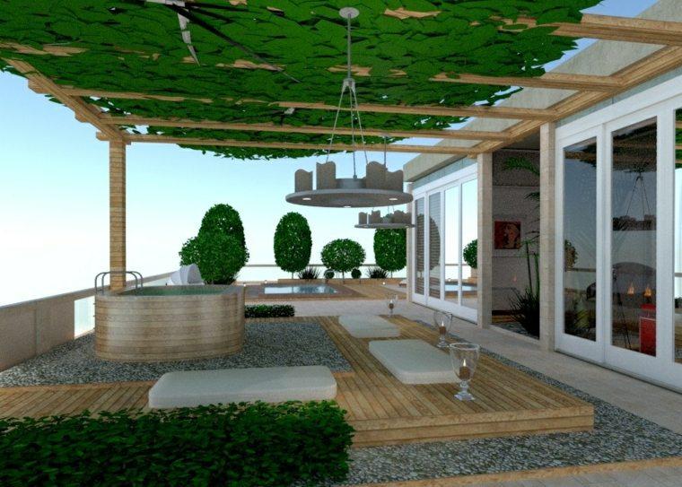 decoracion de terrazas-grandes-modernas