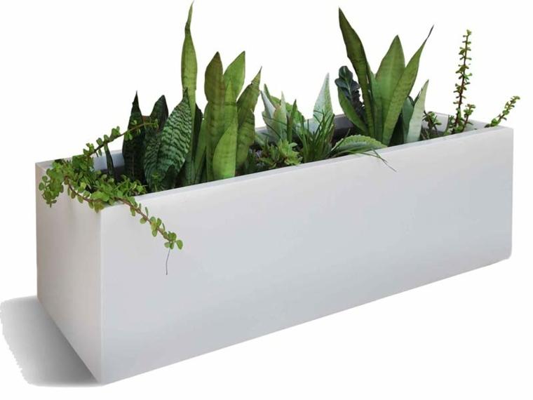 decoracion de terrazas-macetas-interior