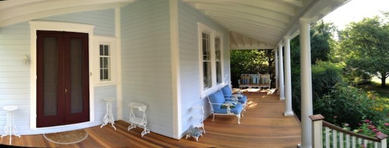 porche y patio cubierto