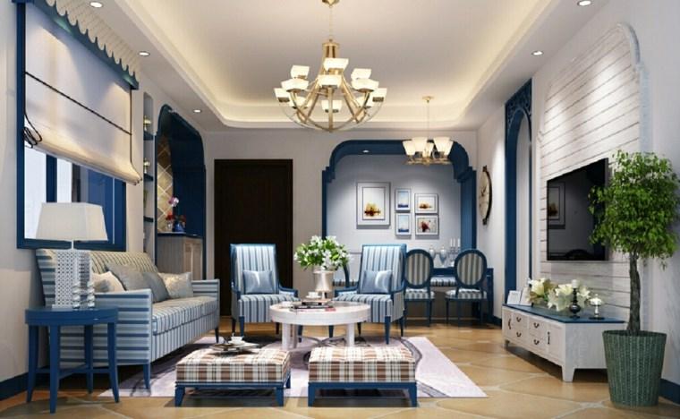 decoracion moderna-interiores-estilo-mediterraneo