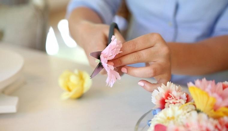 decoraciones-para-casas-flores-falsas-tallos-cortados