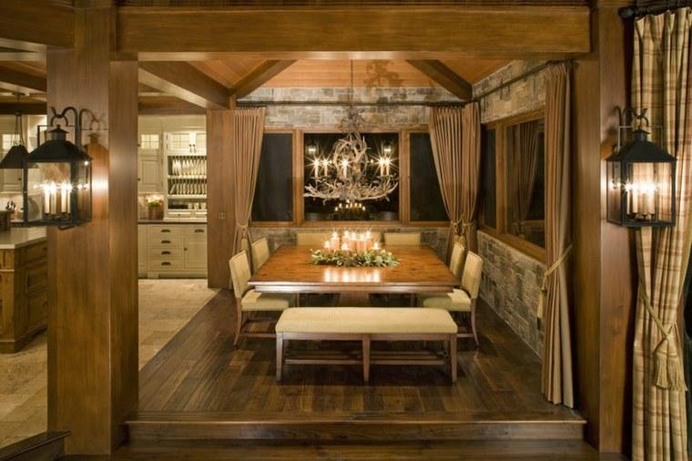 decoraciones-rusticas-de-interiores-de-casas-brown-design-group-comedor