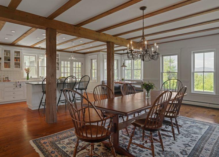 decoraciones-rusticas-de-interiores-de-casas-cocina-comedor