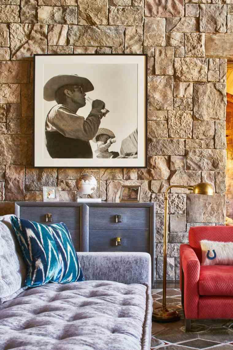 decoraciones-rusticas-de-interiores-de-casas-johnson-sokol-interior-design-pared