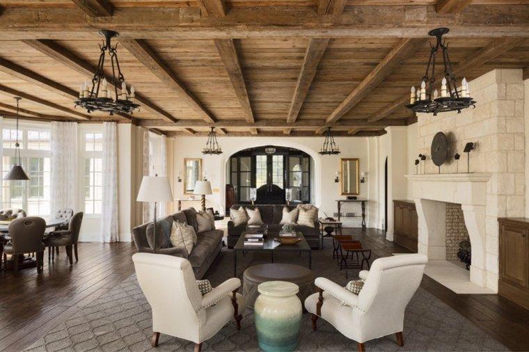 decoraciones-rusticas-de-interiores-de-casas-lamparas-ideas