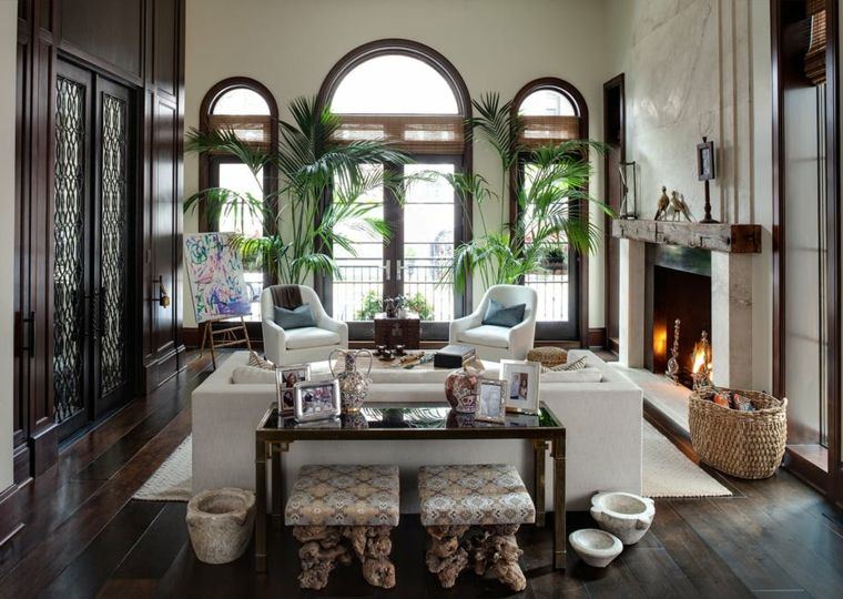 decoraciones-rusticas-de-interiores-de-casas-lewis-giannoulias-interiors-elementos-modernos