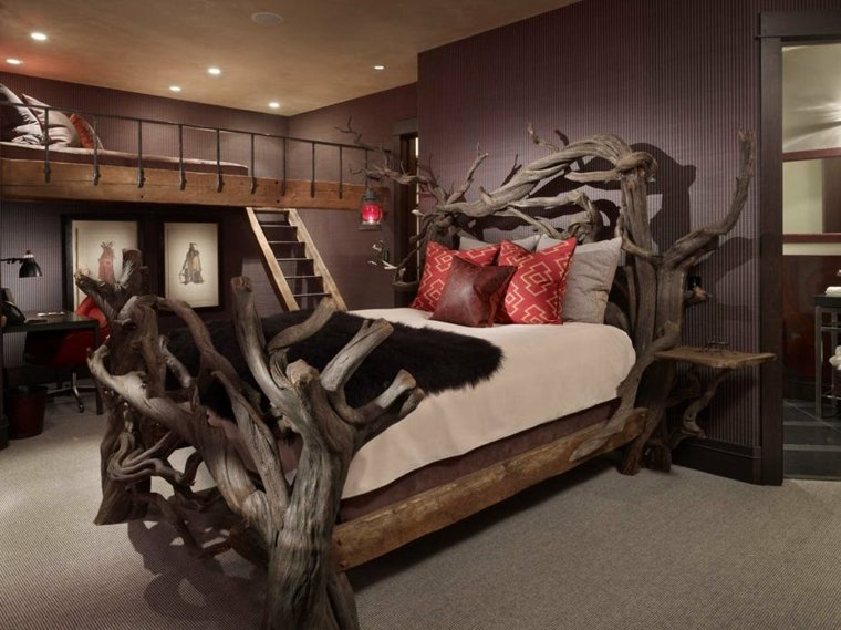 decoraciones-rusticas-de-interiores-de-casas-lkid-dormitorio-original-cama