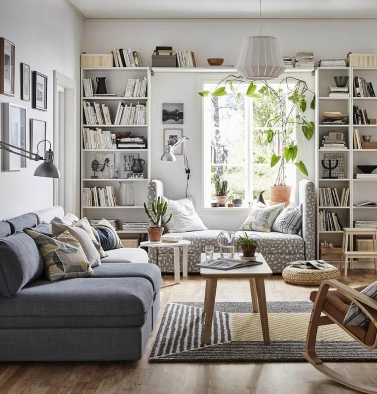 ideas de decoración del país sala de estar Muebles De Saln Ikea Ideas Refrescantes Que Te Inspirarn
