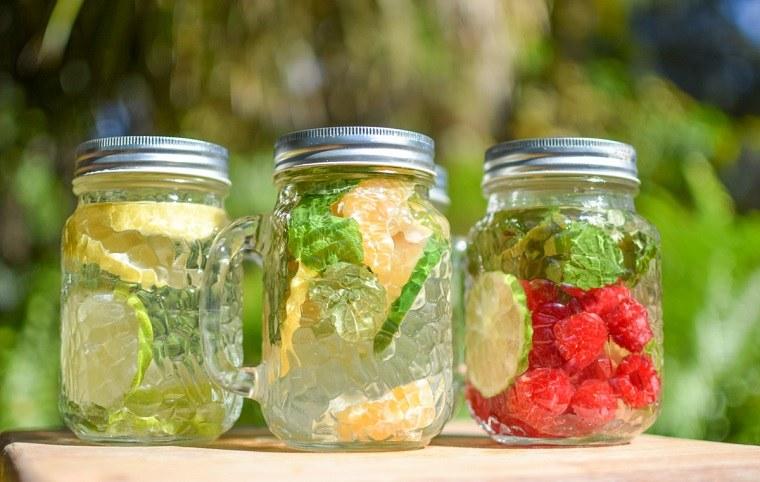 dieta-para-adelgazar-recetas-agua-detox