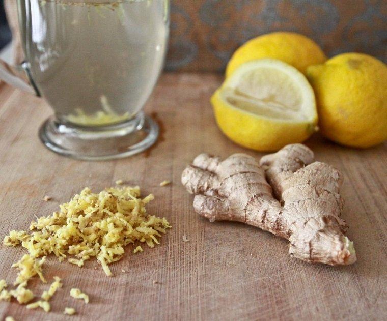dieta-para-adelgazar-recetas-agua-limon-jengibre-ideas