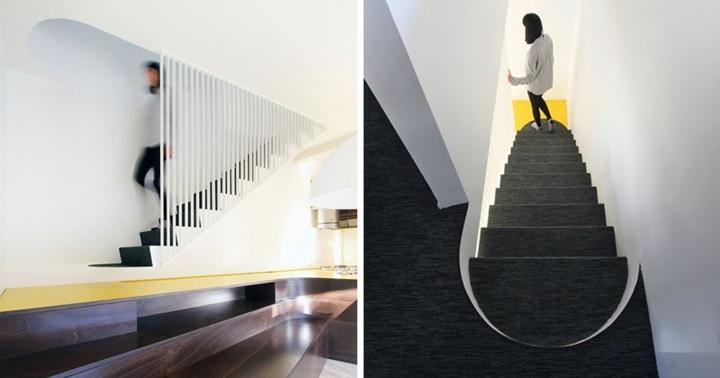 diseño de escaleras modernas funcionales