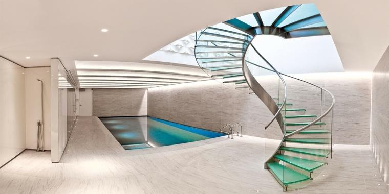 Escaleras de caracol para interiores y sus principios Como hacer una escalera caracol