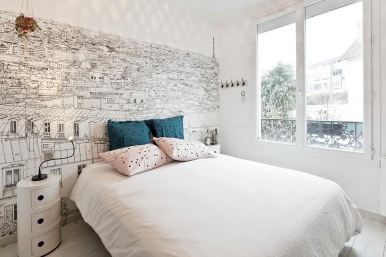 diseno de interiores dormitorios-modernos-blanco