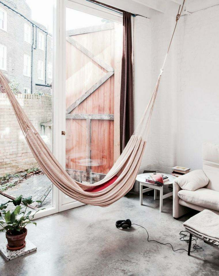 diseno de interiores-modernos-hamacas