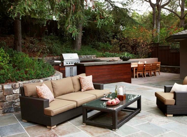 diseno-jardin-salon-comedor-cocina--Arterra-Landscape-Architects
