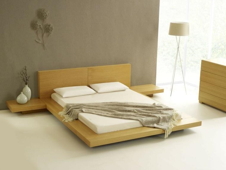 disenos de camas de madera-decorar-dormitorio