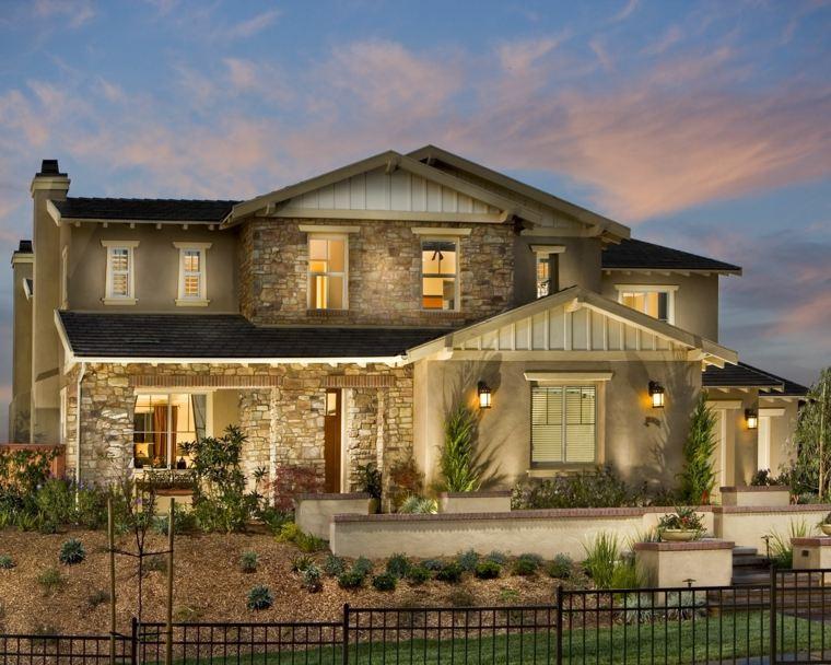 disenos de casas-modernas-piedras