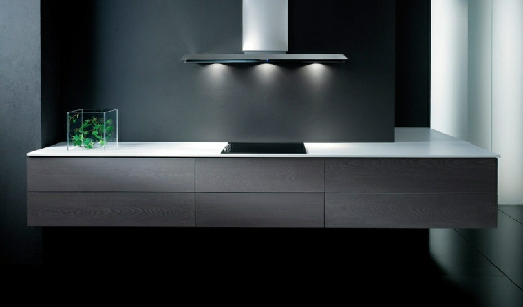 disenos de cocinas modernas-minimalistas
