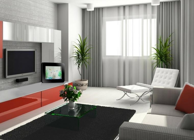 disenos de interiores de casas-salas-pequenas