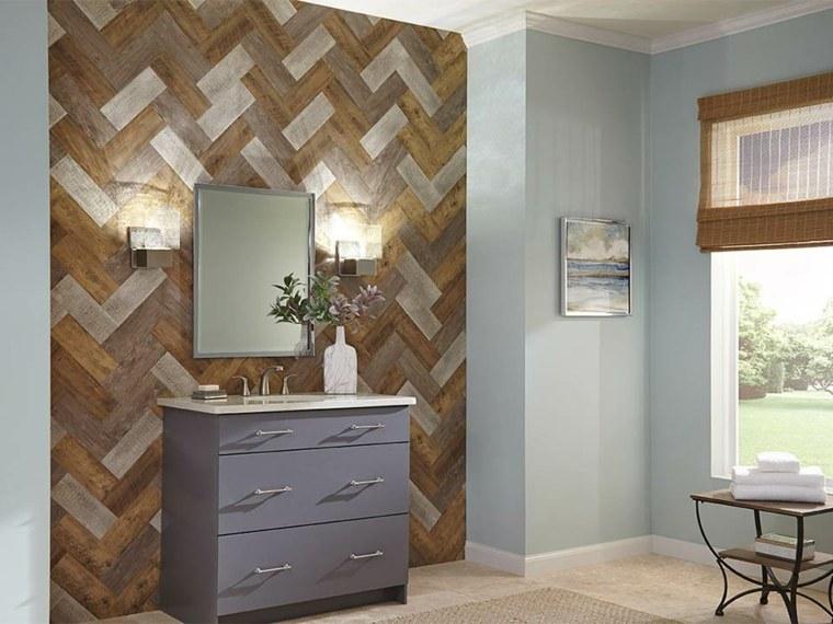 disenos para paredes-enlosado-madera