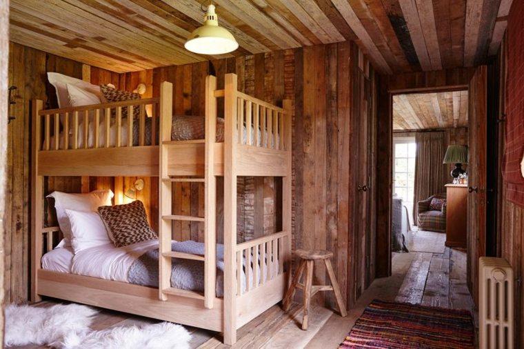 dormitorio-camas-literas-madera-estilo-rustico