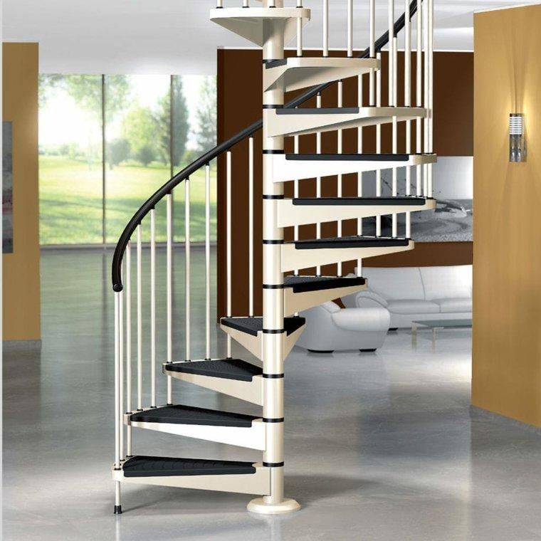 escaleras de aluminio-interiores-modernos