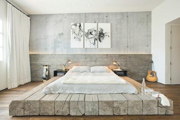 diseño de habitación estilo wabi sabi